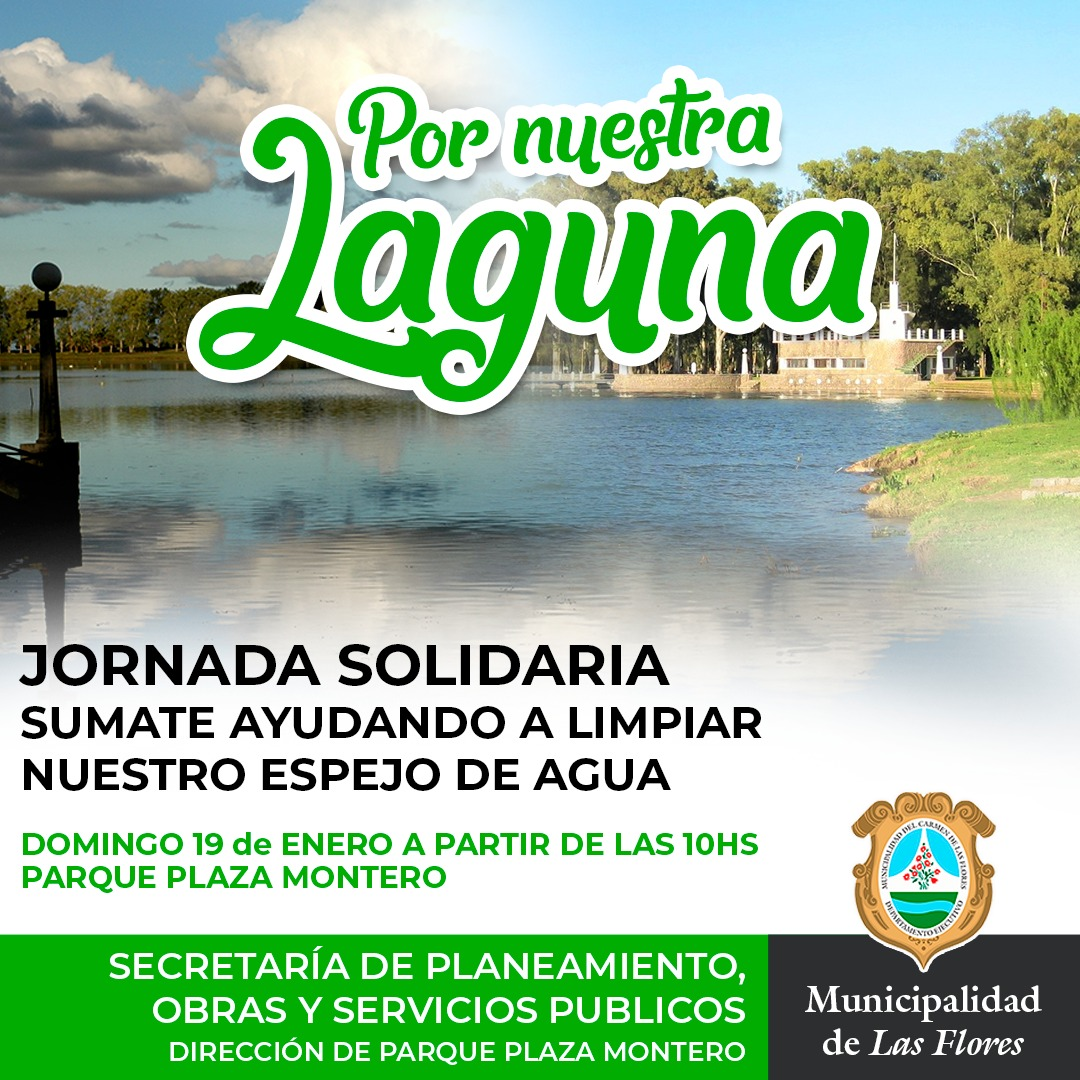 "Photo of Jornada Solidaria ""Por nuestra Laguna"""