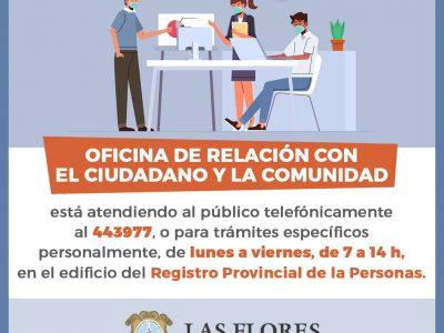FLYER OFICINA DE RELACION CON EL CIUDADANO