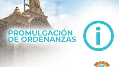 Photo of PROMULGACIÓN DE ORDENANZAS